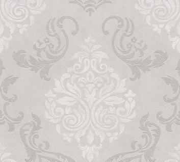 Vliestapete Barock Ornament Glitzer beige grau 95372-1 Memory 3