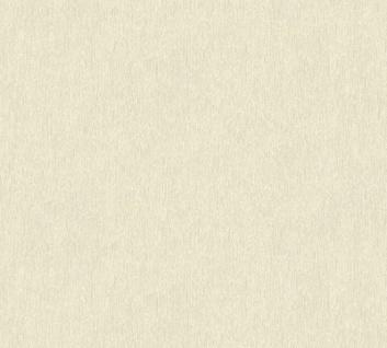 Vliestapete Uni Struktur creme beige Großrolle 10, 05 x 1, 06 m 36455-1 Melange