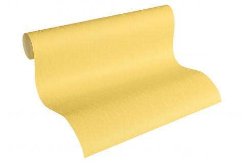 Luxus Vliestapete Uni gelb gold 34276-5 Hermitage einfarbig