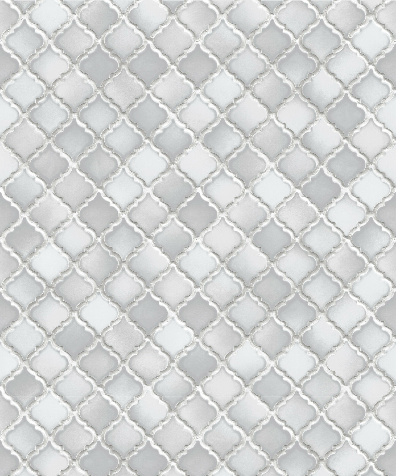 Vlies Tapete Stein Keramik Mosaik Fliesen Florentiner Optik Grau - Florentiner fliesen