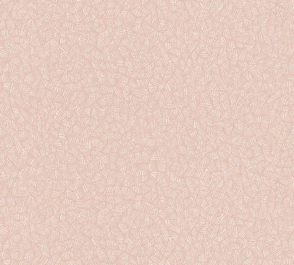 Grafisches Mosaik Muster Vlies Tapete Altrosa Geometrisch Palila