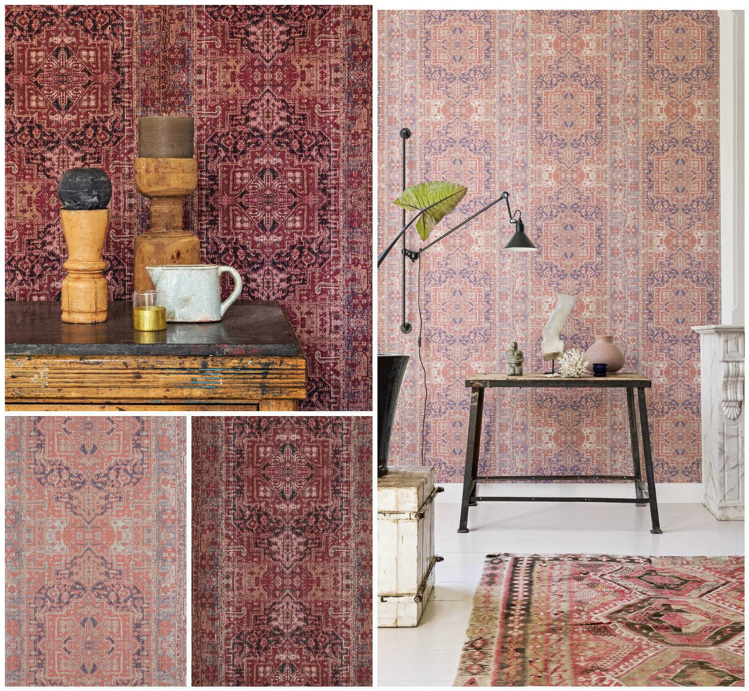 tapeten orientalisches design wohn design. Black Bedroom Furniture Sets. Home Design Ideas