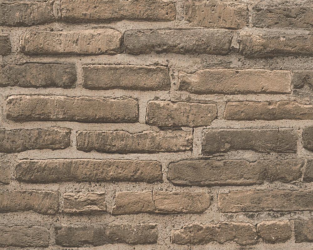Tapete stein best ylvie rasch vlies tapete steingrau for Tapete stein