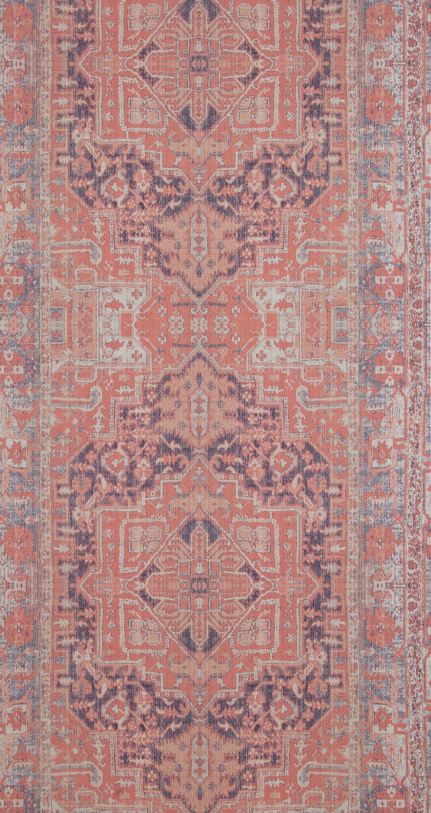 vlies tapete orientalisches wandteppich muster rose rot ethno look 218034 perser 2 - Tapete Rot Muster