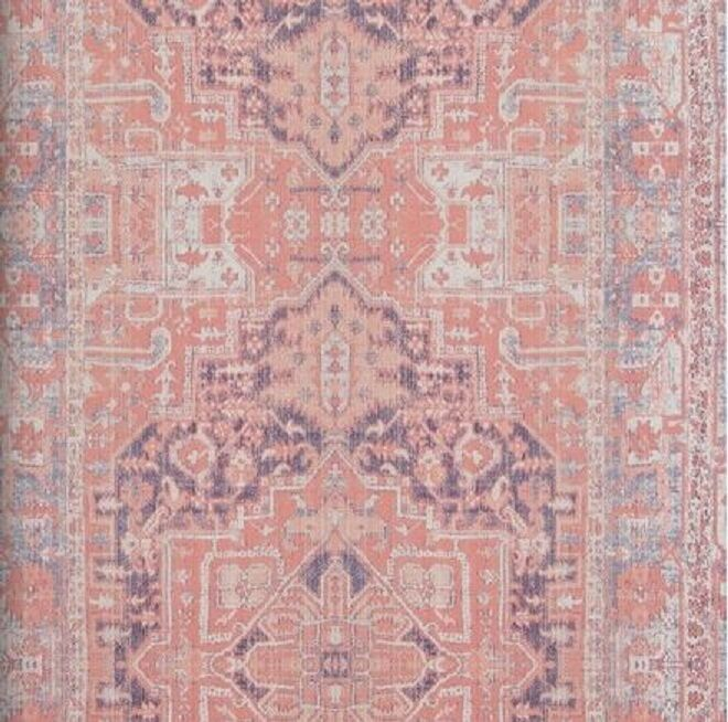 vlies tapete orientalisches wandteppich muster rose rot ethno look 218034 perser 3 - Tapete Orientalisches Muster