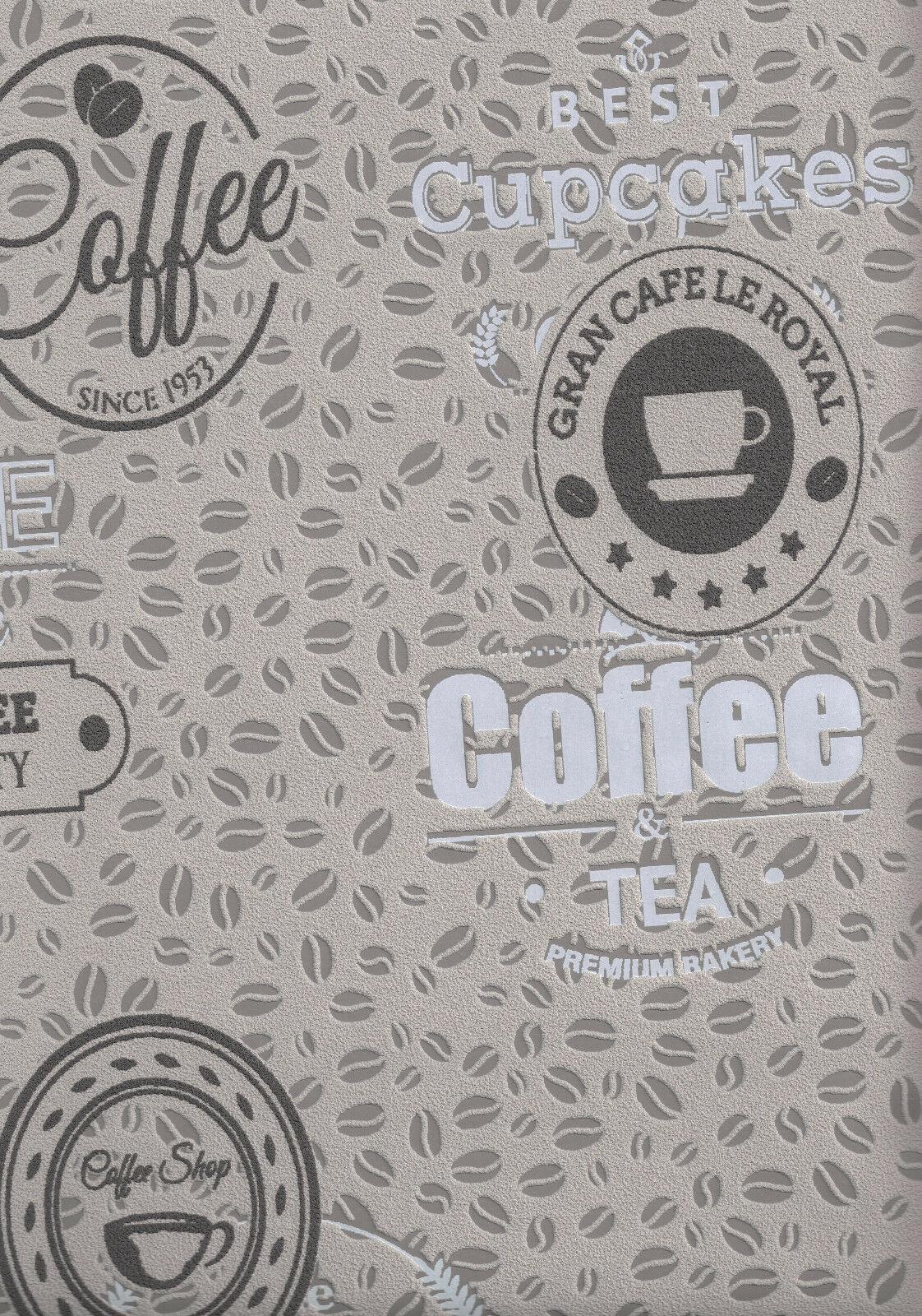 vliestapete kaffeebohnen coffee cupcakes kieselgrau braun kuchentapete 18481 1