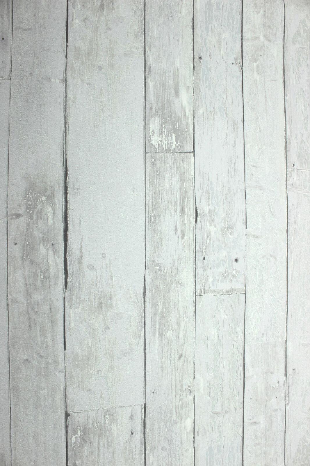 Vlies tapete antik holz rustikal hell grau bretter - Tapete rustikal ...