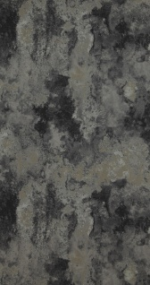 Vliestapete Patina Steinwand Spachtel Optik anthrazit grau silber schwarz 218006