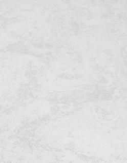 Vliestapete Carat Uni weiß grau meliert glänzend 10078-31 / 1007831