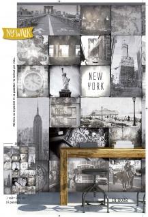 Vlies Foto Tapete New York Ny Walk Downtown Wandbild 200 x 300cm DI2032