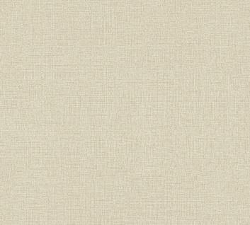Vliestapete Uni Struktur Textil Leinen Optik beige 36776-2 / 367762