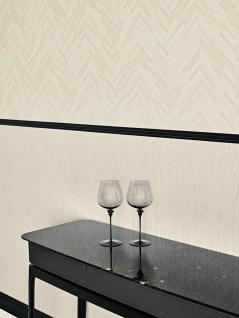 Versace 4 VliesTapete Uni Holzoptik Struktur creme beige 370521