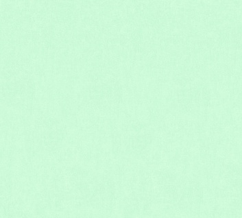 Vliestapete Kinder Uni mint grün einfarbig Little Stars 35834-1