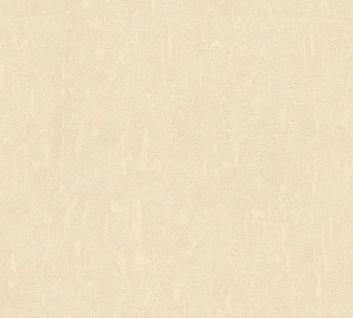 Vlies Tapete Uni Putz Struktur Spachtel Optik beige glanz 34502-5 Chateau 5