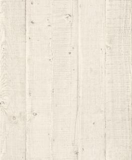 Vliestapete Antik Holz Optik creme beige rustikal verwittert 1203 Landhaus