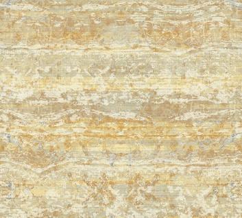 Vliestapete Textil Used Look Balken Optik creme gelb Character 36774-3 / 367743