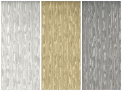 Vliestapete Uni Stuktur weiß creme beige grau Faltenoptik crush optik wellen - Vorschau 1