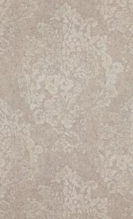Vliestapete Neobarock Ornament beige Stein Beton Optik shabby vintage 218795