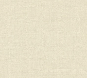 Vliestapete Uni Struktur Textil Leinen Optik creme beige 36777-6 / 367776