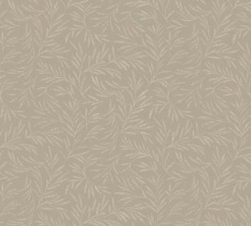 Vliestapete Blätter Zweige Äste taupe braun glanz Architects Paper Alpha 33326-3