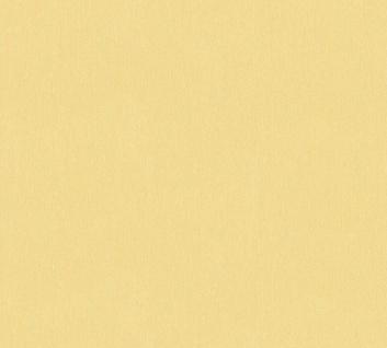Vlies Tapete Uni Struktur Muster gelb gold glanz 34503-9 Chateau 5 - Vorschau 1