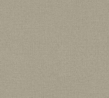 Vliestapete Uni Struktur Textil Leinen Optik taupe grau 36776-9 / 367769