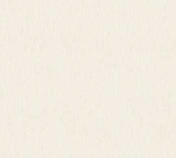 Vlies Tapete Uni Struktur Muster creme weiß beige glanz 34503-2 Chateau 5