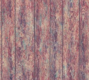 Vliestapete Holz Optik Antik Struktur Paneele bunt verwittert Boho Love 36460-1