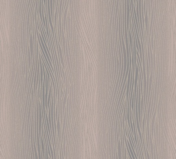 Vinyl Tapete Uni Struktur Streifen Optik braun grau Kingston 324732