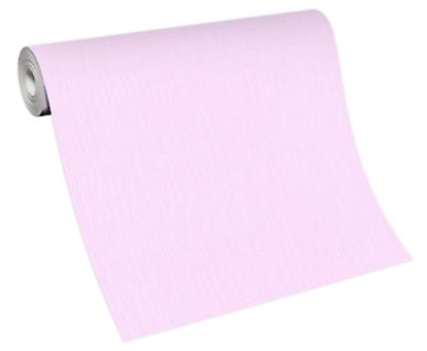 Vlies Tapete Uni Streifen Struktur rosa 10166-05