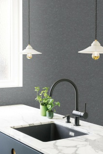 Vlies Tapete Beton Optik dunkel grau gold modern look Stein Wand GT1003