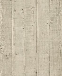 Vliestapete Antik Holz Optik beige braun rustikal verwittert 1201 Landhaus