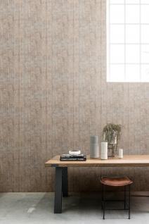 Vliestapete Antik Holz rustikal verwittert hell blau grau beige 218831 shabby
