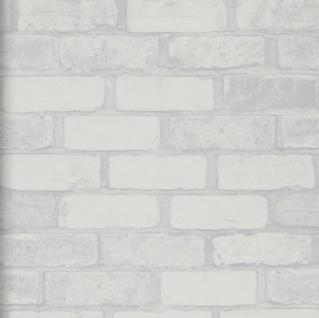 vlies tapete bruchstein stein muster weiss grau mauer wei. Black Bedroom Furniture Sets. Home Design Ideas