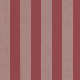 Vliestapete Streifen rot gold Glitzer metallic 13700-40 gestreift glitter