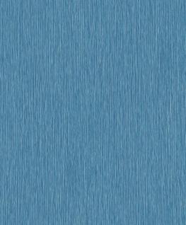 Vlies Tapete Uni Struktur blau türkis silber 3610-30 Vertical Art