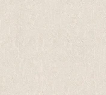 Vlies Tapete Uni Putz Struktur Spachtel Optik beige grau glanz 34502-4 Chateau 5