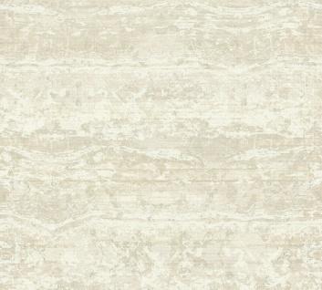 Vliestapete Textil Used Look Balken Optik creme beige Character 36774-1 / 367741