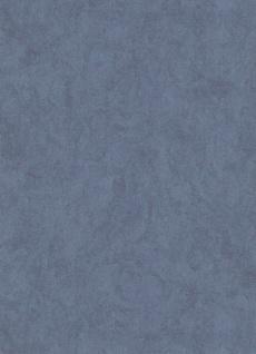 Vliestapete Carat Uni blau meliert glänzend 10078-44 / 1007844