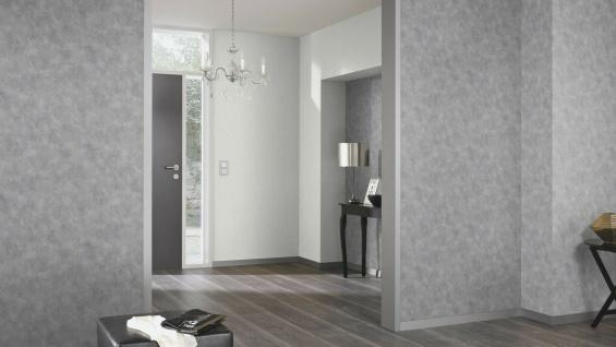 Vliestapete Beton Optik Marmor Struktur Stein Wand grau silber 6323-10