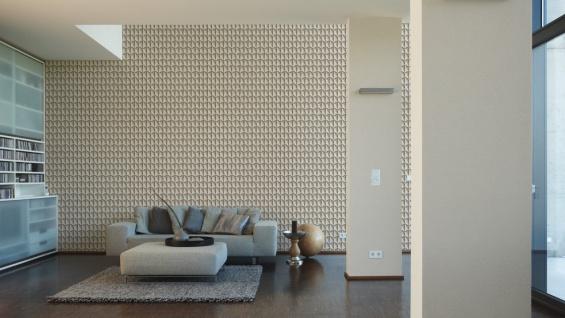 Vliestapete Uni Struktur Einfarbig creme beige Design by Mac Stopa 32728-6 - Vorschau 3