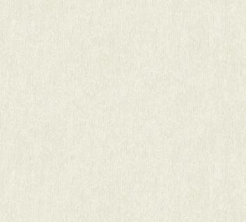 Vliestapete Uni Struktur creme weiß Großrolle 10, 05 x 1, 06 m 36455-3 Melange