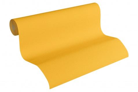 Vliestapete Uni Struktur Einfarbig orange Design by Mac Stopa 32728-5