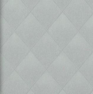 Vlies Tapete Rauten Muster grau Karo Caro Kariert textil jeans optik 17624