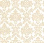 Vliestapete Neobarock Ornament weiß gold Glitzer metallic glitter 13701-50