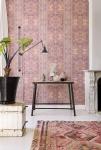 Vlies Tapete orientalisches Wandteppich Muster rose rot ethno look 218034 perser
