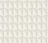 Vliestapete Retro 3D Kacheln weiß grau Grafisch Design by Mac Stopa 32708-1