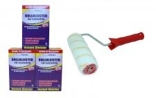 3 x Rollkleister 500 g = 1, 5 Kg für Vliestapeten Vlieskleister + Kleisterrolle