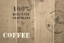 Vlies Tapete Coffee Cacao 8845-10 Holz braun beige Küche Cocktail Landhaus