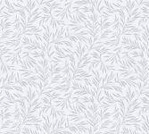 Vliestapete Blätter Zweige Äste weiß grau glanz Architects Paper Alpha 33326-1
